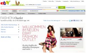 ebay fashion Outlet